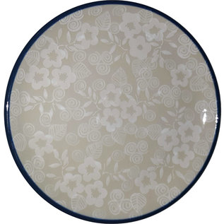 Ceramika Artystyczna Bread & Butter Plate Frosted Petals