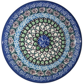 Ceramika Artystyczna Bread & Butter Plate Geometric Garden Signature