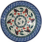 Ceramika Artystyczna Bread & Butter Plate Holiday Robin