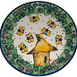 Ceramika Artystyczna Bread & Butter Plate Honey Bee Signature