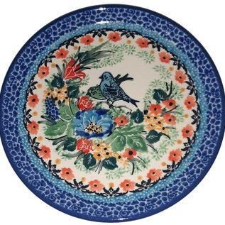 Ceramika Artystyczna Bread & Butter Plate Lovebirds Signature 3.5