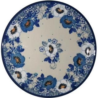 Ceramika Artystyczna Bread & Butter Plate Magnolia Blue