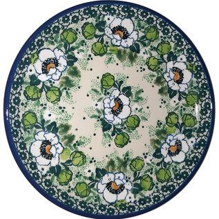 Ceramika Artystyczna Bread & Butter Plate Magnolia Green Signature