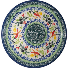 Ceramika Artystyczna Bread & Butter Plate Mediterranean Peppers Signature 3.5