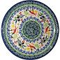 Ceramika Artystyczna Bread & Butter Plate Mediterranean Peppers Signature 3.5