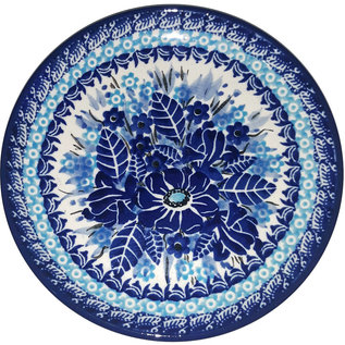 Ceramika Artystyczna Bread & Butter Plate Melrose Blue Signature