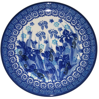 Ceramika Artystyczna Bread & Butter Plate Midnight Gardens Signature