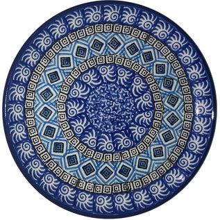 Ceramika Artystyczna Bread & Butter Plate Nautilus Blue