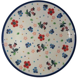 Ceramika Artystyczna Bread & Butter Plate Petite Poppy Garden Signature