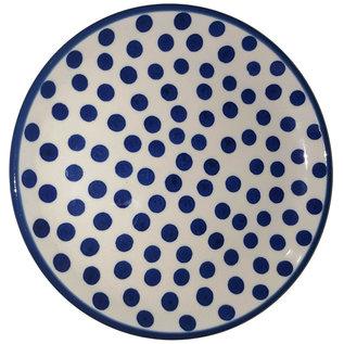 Ceramika Artystyczna Bread & Butter Plate Polka Dots