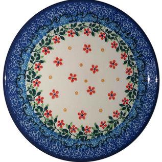 Ceramika Artystyczna Bread & Butter Plate Princess Flowers