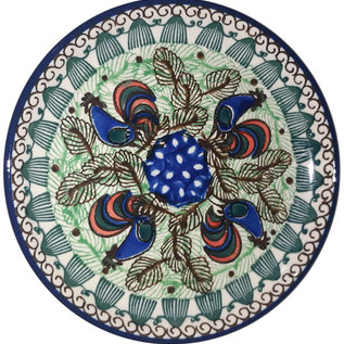 Ceramika Artystyczna Bread & Butter Plate Rooster (Chanticleer) Signature