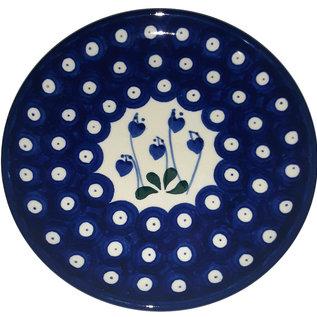 Ceramika Artystyczna Bread & Butter Plate Royal Hanging Hearts