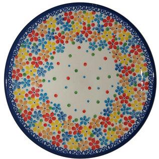 Ceramika Artystyczna Bread & Butter Plate Rainbow Confetti Signature