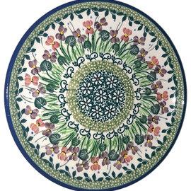 Ceramika Artystyczna Bread & Butter Plate Iris Garden Signature 3.5