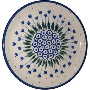 Ceramika Artystyczna Bread & Butter Plate Winter Tulips