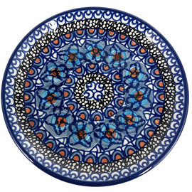 Ceramika Artystyczna Bread & Butter Plate Cottage Blue Signature