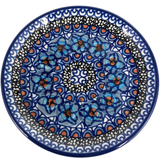 Ceramika Artystyczna Bread & Butter Plate Cottage Blue Signature