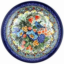 Ceramika Artystyczna Dinner Plate Lovebirds Signature 3.5