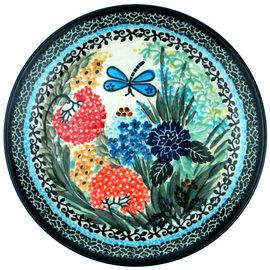 Ceramika Artystyczna Dinner Plate Antoinette Green Signature