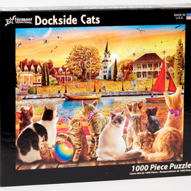 Puzzle Dockside Cats