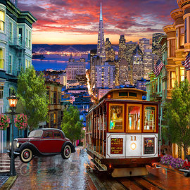 Puzzle San Francisco Trolley