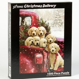 Puzzle Christmas Delivery - 1000 Pieces
