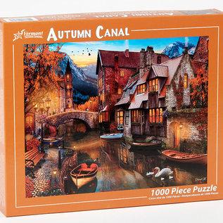 Puzzle Autumn Canal