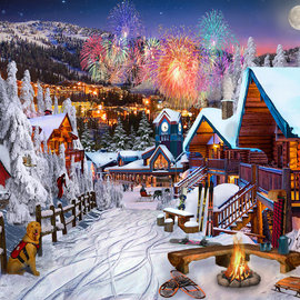 Puzzle Winter Playground