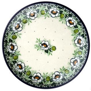 Ceramika Artystyczna Dinner Plate Magnolia Green