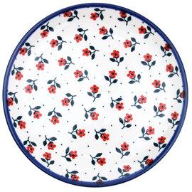 Ceramika Artystyczna Dinner Plate Alpine Red