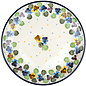 Ceramika Artystyczna Dinner Plate Wild Pansies