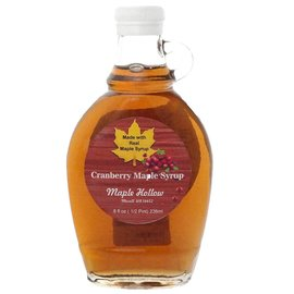 Maple Hollow Maple Syrup, Cranberry 8 oz