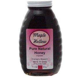 Maple Hollow Honey Cranberry Blossom Glass 18 oz.