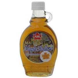Maple Hollow Maple Syrup, Glass, 8 oz Half Pint