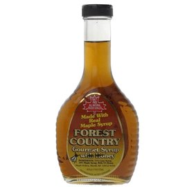 Maple Hollow Maple Syrup Forest Country w/ Honey One Pint