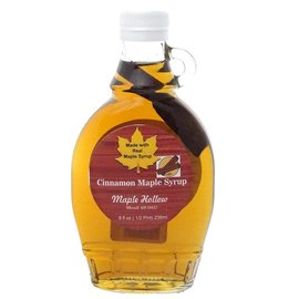 Maple Hollow Maple Syrup, Cinnamon 8 oz