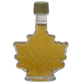 Maple Hollow Maple Syrup, Glass Leaf, Small 1.68 oz