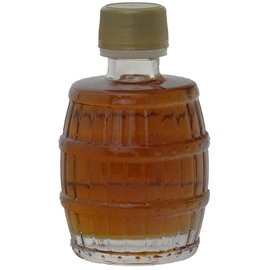 Maple Hollow Maple Syrup Glass Barrel 3.4 oz.