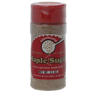 Maple Hollow Granulated Maple Sugar 3.5 oz