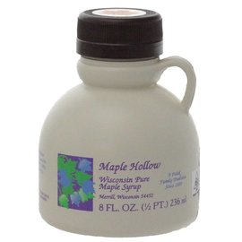 Maple Hollow Maple Syrup, Plastic, 8 oz