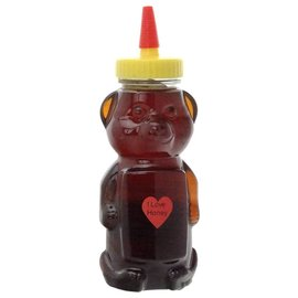 Maple Hollow Honey Cranberry Blossom Bear 12 oz.