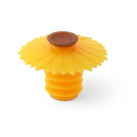 Charles Viancin Bottle Stopper, Sunflower Yellow