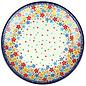 Ceramika Artystyczna Dinner Plate Rainbow Confetti Signature