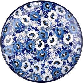 Ceramika Artystyczna Dinner Plate Magnolia Grove Blue Signature 5