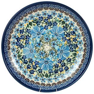 Ceramika Artystyczna Dinner Plate Melody in Blue Signature