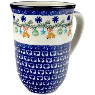 Ceramika Artystyczna Bistro Cup Jingle Bells