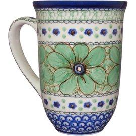 Ceramika Artystyczna Bistro Cup Cosmos Green Signature 4