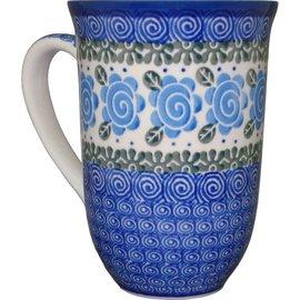 Ceramika Artystyczna Bistro Cup Lady Godiva Blue