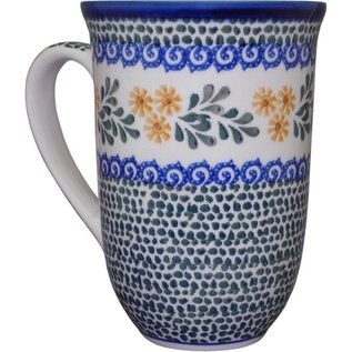 Ceramika Artystyczna Bistro Cup Triple Daisy